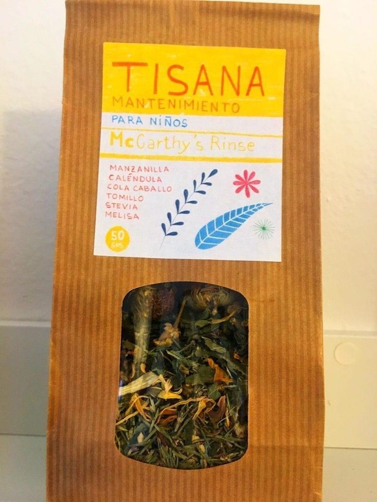 McCarthy's Rinse Tisana for kids